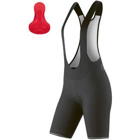 Gonso Sitivo Bib Shorts with Pad Women, zwart/rood